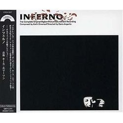Inferno Soundtrack (Keith Emerson) - CD cover