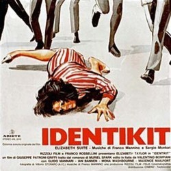 Identikit Soundtrack (Franco Mannino) - CD cover