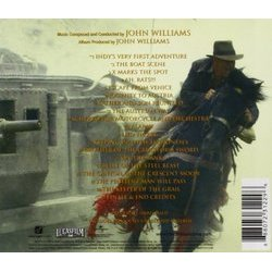 Indiana Jones and the Last Crusade サウンドトラック (John Williams) - CD裏表紙