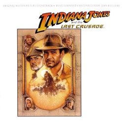 Indiana Jones and the Last Crusade サウンドトラック (John Williams) - CDカバー