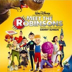 Meet the Robinsons Soundtrack (Various Artists, Danny Elfman) - Carátula