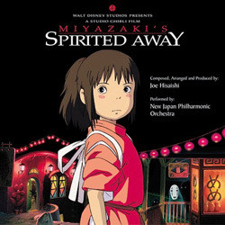 Spirited Away Soundtrack (Joe Hisaishi) - Carátula