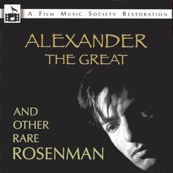Alexander The Great and Other Rare Rosenman 声带 (Alan Bergman, Marilyn Bergman, Leonard Rosenman) - CD封面