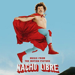 Nacho Libre Soundtrack (Various Artists, Danny Elfman) - Carátula