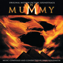The Mummy Soundtrack (Jerry Goldsmith) - CD cover