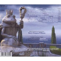 Shrek the Third 声带 (Harry Gregson-Williams) - CD后盖