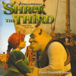 Shrek the Third 声带 (Harry Gregson-Williams) - CD封面