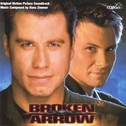 Broken Arrow Soundtrack (Hans Zimmer) - CD cover