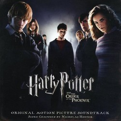 Harry Potter and the Order of the Phoenix Ścieżka dźwiękowa (Nicholas Hooper) - Okładka CD