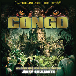 Congo Soundtrack (Jerry Goldsmith) - CD cover