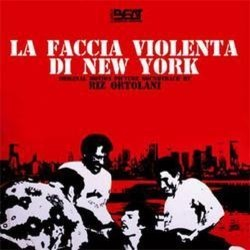 La Faccia Violenta di New York Soundtrack  (Riz Ortolani) - CD cover