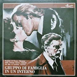 Gruppo di Famiglia in un Interno Soundtrack (Franco Mannino) - CD-Cover