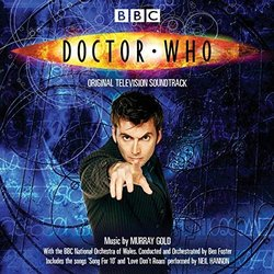 Doctor Who Soundtrack (Murray Gold) - CD cover