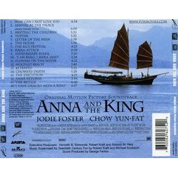 Anna and the King Soundtrack (George Fenton) - CD Back cover