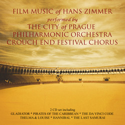 Film Music of Hans Zimmer Soundtrack (Hans Zimmer) - Car�tula