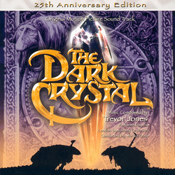 The Dark Crystal Colonna sonora (Trevor Jones) - Copertina del CD