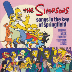 The Simpsons Soundtrack (Alf Clausen, Danny Elfman) - CD-Cover