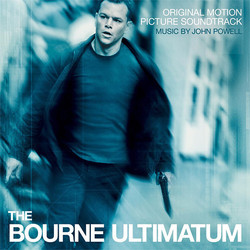 The Bourne Ultimatum Soundtrack (John Powell) - CD cover