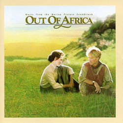 Out of Africa Soundtrack (John Barry) - CD cover