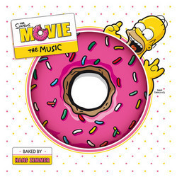 The Simpsons Movie Soundtrack (Danny Elfman, Hans Zimmer) - CD cover