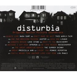 Disturbia Soundtrack (Various Artists) - CD Trasero