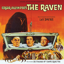 The Raven / An Evening of Edgar Allan Poe Soundtrack (Les Baxter) - CD cover