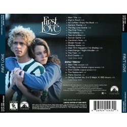 First Love Soundtrack (John Barry) - CD Back cover