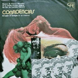 Confidencias Soundtrack (Franco Mannino) - CD cover
