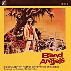 Band of Angels / Death of a Scoundrel Soundtrack (Max Steiner) - Carátula