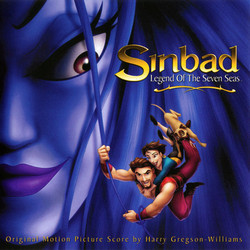 Sinbad: Legend of the Seven Seas Soundtrack (Harry Gregson-Williams) - CD cover