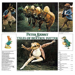 Peter Rabbit and Tales of Beatrix Potter Soundtrack (John Lanchbery) - CD Trasero