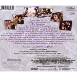 The Jane Austen Book Club Soundtrack (Aaron Zigman) - CD Back cover