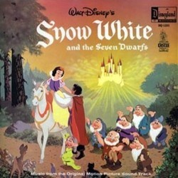 Snow White and the Seven Dwarfs Soundtrack (Frank Churchill, Leigh Harline, Paul J. Smith) - CD cover