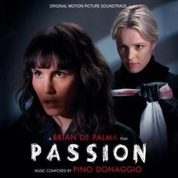 Passion Soundtrack (Pino Donaggio) - CD cover