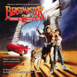 Beastmaster 2 : Through the Portal of Time Bande Originale (Robert Folk) - Pochettes de CD