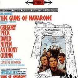 The Guns of Navarone Trilha sonora (Dimitri Tiomkin) - capa de CD
