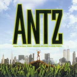 Antz Soundtrack (Harry Gregson-Williams, John Powell) - CD cover