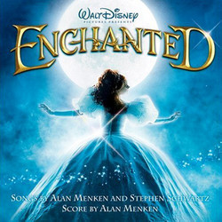Enchanted Soundtrack (Various Artists, Alan Menken, Stephen Schwartz) - CD cover