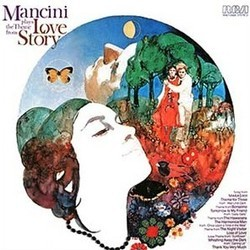 Mancini Plays the Theme from Love Story Soundtrack (Henry Mancini) - CD cover