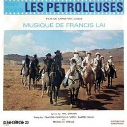 Les Pétroleuses 聲帶 (Various Artists, Francis Lai) - CD封面