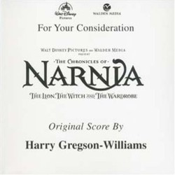 The Chronicles of Narnia: The Lion, the Witch and the Wardrobe Soundtrack (Harry Gregson-Williams) - CD cover