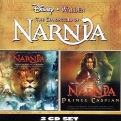 The Chronicles of Narnia: The Lion, the Witch and the Wardrobe / The Chronicles of Narnia: Prince Caspian Soundtrack (Harry Gregson-Williams) - CD cover