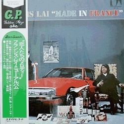 "Francis Lai ""Made in France"" Soundtrack (Francis Lai) - CD cover"