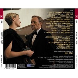 House Of Cards Soundtrack (Jeff Beal) - CD Back cover