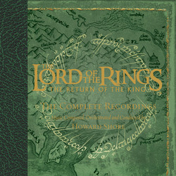 The Lord of the Rings: The Return of the King 聲帶 (Howard Shore) - CD封面