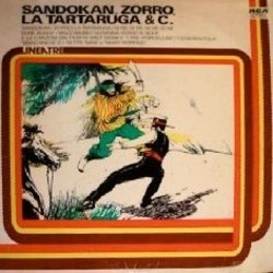 Sandokan, Zorro, La Tartaruga & C. Soundtrack (Various Artists) - CD cover