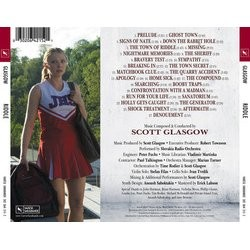 Riddle Soundtrack (Scott Glasgow) - CD Back cover