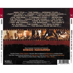 Mimesis Soundtrack (Diego Navarro) - CD Back cover