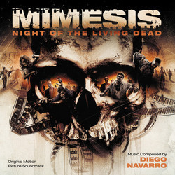 Mimesis Soundtrack (Diego Navarro) - CD cover