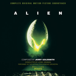 Alien Bande Originale (Jerry Goldsmith) - Pochettes de CD